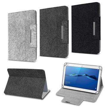 Huawei MediaPad M3 Lite 10 Tasche Hülle Tablet Cover Filz Case Schutzhülle Etui – Bild 1