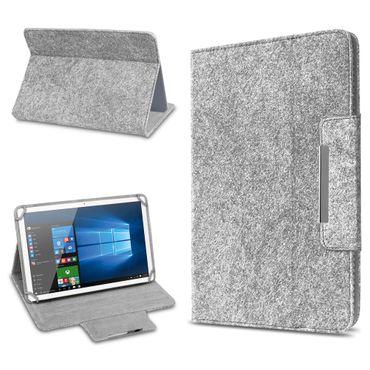 Lenovo Tab 4 10 Plus Tasche Hülle Tablet Cover Filz Case Schutzhülle Stand Etui – Bild 8