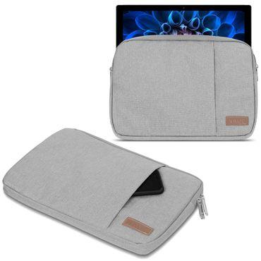 Acer Switch Alpha 12 Hülle Tasche Notebook Schutzhülle Schwarz / Grau Cover Case – Bild 8