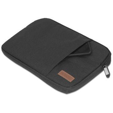 Apple MacBook Pro 13,3 Zoll Hülle Tasche Schutzhülle Schwarz / Grau Cover Case – Bild 6
