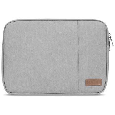 Apple MacBook Air 13,3 Zoll Hülle Tasche Schutzhülle Schwarz / Grau Cover Case – Bild 10