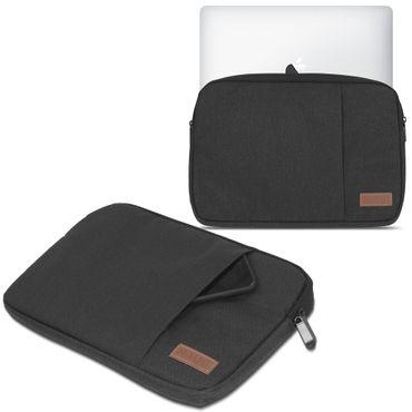 Apple MacBook Air 13,3 Zoll Hülle Tasche Schutzhülle Schwarz / Grau Cover Case – Bild 2