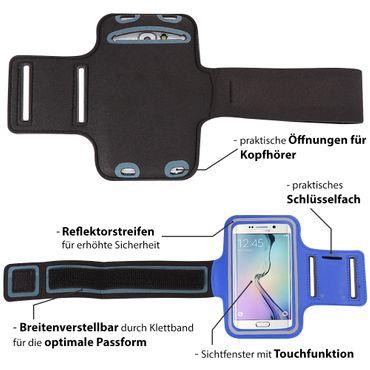 Huawei Smartphone Jogging Handy Tasche Hülle Sportarmband Fitnesstasche Lauf Bag – Bild 22