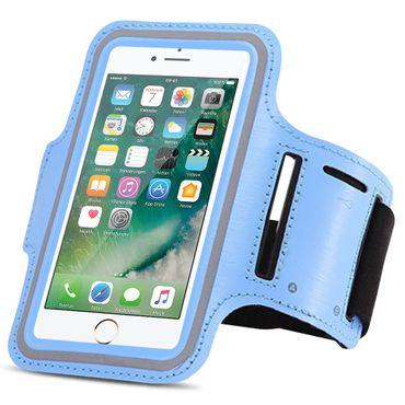 Apple iPhone 8 Jogging Tasche Handy Hülle Sportarmband Fitnesstasche Lauf Bag – Bild 6