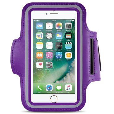 Apple iPhone 8 Jogging Tasche Handy Hülle Sportarmband Fitnesstasche Lauf Bag – Bild 9