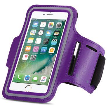 Apple iPhone 8 Jogging Tasche Handy Hülle Sportarmband Fitnesstasche Lauf Bag – Bild 8