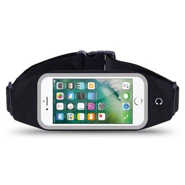 Apple iPhone 7 Plus Tasche Hülle Schwarz Jogging Fitnesstasche Bauchtasche Case  – Bild 1