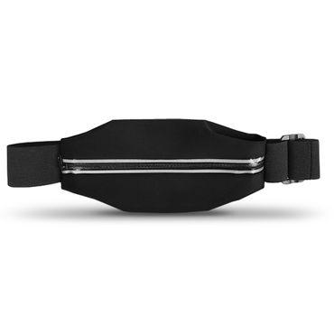 Huawei Nova 2 Plus Tasche Hülle Schwarz Jogging Fitnesstasche Bauchtasche Case  – Bild 2