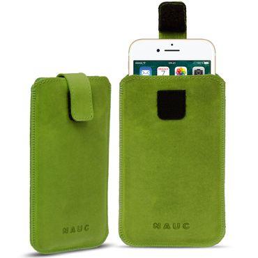 Leder Tasche für Apple iPhone 8 Handyhülle Cover Smartphone Pull Tab Case Hülle – Bild 23