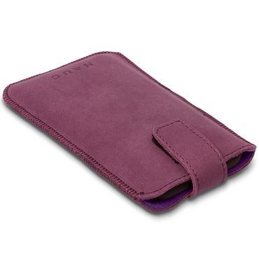 Leder Tasche für Apple iPhone 8 Handyhülle Cover Smartphone Pull Tab Case Hülle – Bild 20
