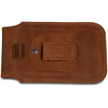 Apple iPhone 8 / 7 Leder Tasche Handy Hülle Sleeve Lederhülle Cover Schutzhülle – Bild 8