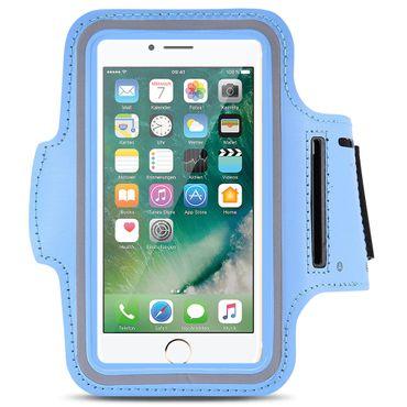 Apple iPhone Jogging Tasche Handy Hülle Sportarmband Fitness Case Schutzhülle – Bild 7