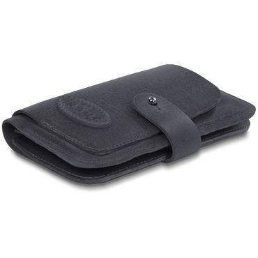 Apple iPhone X Leder Tasche Hülle Schwarz Sleeve Schutzhülle Handy Case Cover – Bild 8