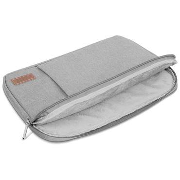 Odys Winbook 13 14 Hülle Tasche Notebook Schutzhülle Schwarz / Grau Cover Case – Bild 13