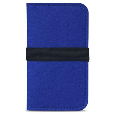 Filz Hülle für Apple iPhone 7 / 8 Tasche Cover Smartphone Case Flip Schutzhülle – Bild 12