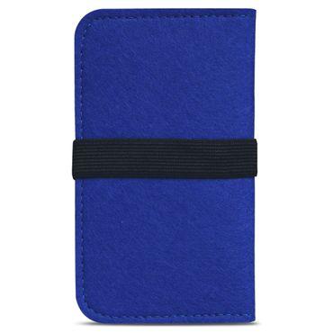 Filz Hülle für Apple iPhone 7 / 8 Tasche Cover Smartphone Case Flip Schutzhülle – Bild 13