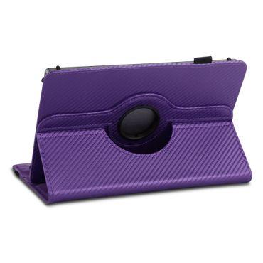 Lenovo Tab3 8 Tablet Hülle Tasche Schutzhülle Case Cover Drehbar Carbon-Optik – Bild 17