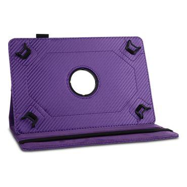 Lenovo Tab3 8 Tablet Hülle Tasche Schutzhülle Case Cover Drehbar Carbon-Optik – Bild 18