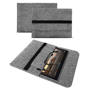 Sleeve Hülle für Google Pixelbook Tasche Filz Notebook Cover Case 12,3 Zoll Grau – Bild 2