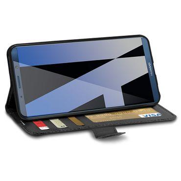 Handy Hülle Tasche für Huawei Mate 10 Pro Schutz Flip Case Cover Schale Wallet – Bild 3