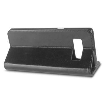 Handy Hülle Tasche Samsung Galaxy Note 8 Schutz Flip Case Cover Schale Wallet – Bild 4