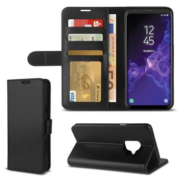 Handy Tasche für Samsung Galaxy S9 S8 S10 Plus A6 A20e A40 A50 Hülle Schutzhülle – Bild 20