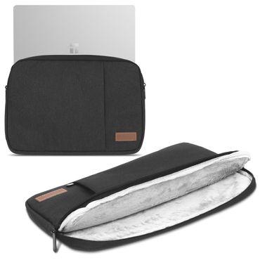 HP ZBook 15u G1 G2 G3 G4 Hülle Tasche Notebook Schutzhülle Schwarz  Grau Cover – Bild 2