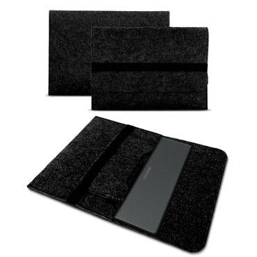 Sleeve Hülle für Medion Akoya E1239T Tasche Filz Notebook Cover Laptop Case Grau – Bild 9