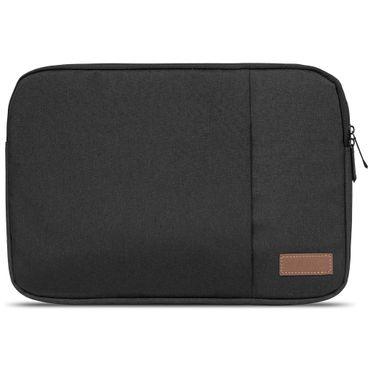 Medion Akoya E1239T Hülle Tasche Notebook Schutzhülle Schwarz / Grau Cover Case – Bild 4