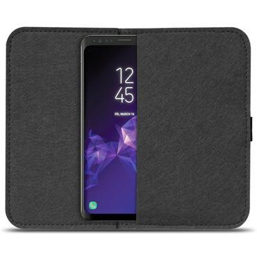 Filz Tasche für Samsung Galaxy S9 / S9 Plus Hülle Cover Handy Case Schutzhülle  – Bild 3