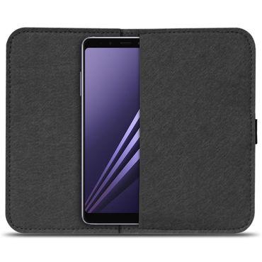 Filz Tasche für Samsung Galaxy A8 Duos 2018 Hülle Cover Handy Case Schutzhülle  – Bild 3