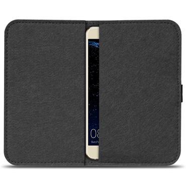 Filz Tasche für Huawei P smart Hülle Cover Handy Case Schutzhülle Schutz Etui – Bild 3