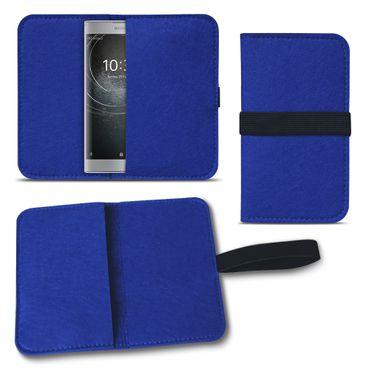 Filz Tasche für Sony Xperia XZ2 Compact Hülle Cover Handy Case Schutzhülle Etui – Bild 23