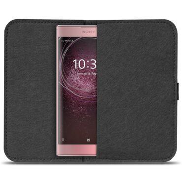 Filz Tasche für Sony Xperia XZ2 Compact Hülle Cover Handy Case Schutzhülle Etui – Bild 17