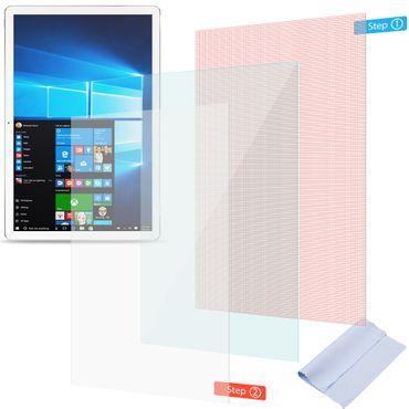 Acer Iconia One 10 B3-A32 Schutzfolie 2x Displayschutz Panzerfolie Universal – Bild 1