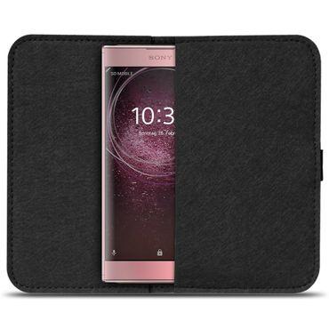 Filzhülle Sony Xperia XA2 Handy Filz Tasche Hülle Cover Schutzhülle Sleeve Case – Bild 15
