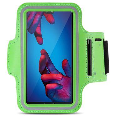 Huawei P20 Lite Jogging Tasche Handy Hülle Sportarmband Fitnesstasche Lauf Case – Bild 7
