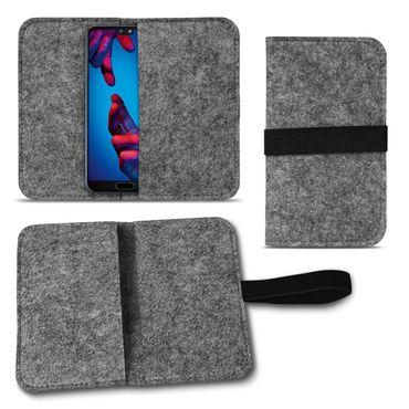 Filz Tasche Huawei P20 Lite Handy Hülle Schutzhülle Sleeve Cover Schutz Case Bag – Bild 9