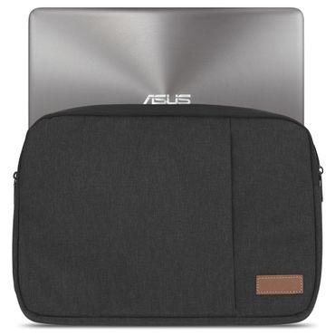 Asus ZenBook 15 / Pro 15 Hülle Tasche Schutzhülle Schwarz / Grau Cover Case – Bild 3