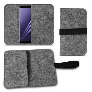 Filz Tasche für Samsung Galaxy A6 2018 Hülle Cover Handy Sleeve Case Schutzhülle – Bild 16
