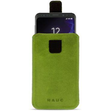 Handyhülle Leder Hülle Samsung Galaxy Serie Schutz Pull Tab Tasche Handy Socke – Bild 25