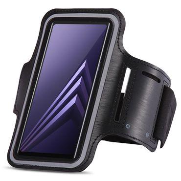 Sportarmband Samsung Galaxy A6 2018 Jogging Tasche Hülle Fitnesstasche Lauf Case – Bild 3