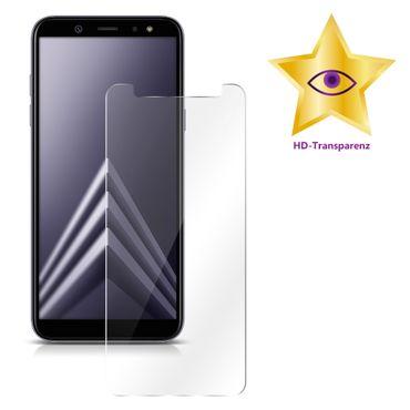 2x Panzerfolie Samsung Galaxy A6 2018 Glasfolie Schutzglas Display Echt Glas 9H – Bild 3