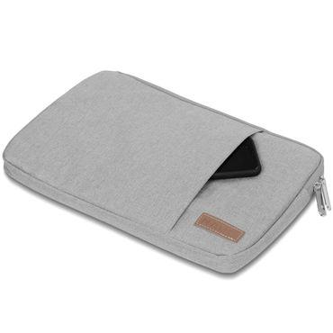 Notebook Tasche Medion Akoya E4254 Hülle Schutzhülle Schwarz / Grau Cover Case – Bild 12