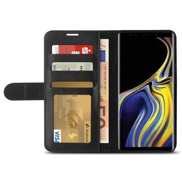Samsung Galaxy Note 9 Handy Tasche Schutzhülle Klapphülle Hülle Flip Case Cover – Bild 4