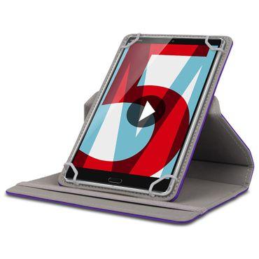 Huawei MediaPad M5 Lite Tablet Schutzhülle Tasche Cover 360° Drehbar Case 10.1 – Bild 25