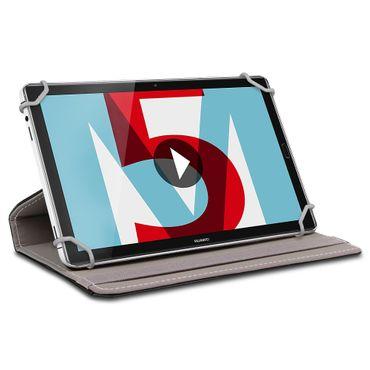 Huawei MediaPad T5 10.1 Tablet Schutzhülle Tasche Cover 360° Drehbar Klapp Case  – Bild 3