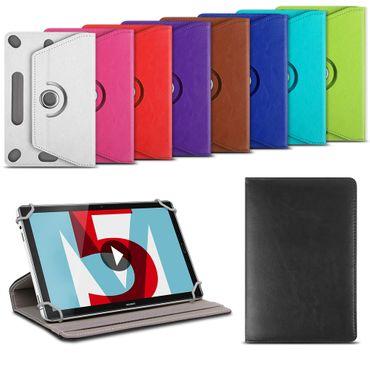 Huawei MediaPad T5 10.1 Tablet Schutzhülle Tasche Cover 360° Drehbar Klapp Case  – Bild 1