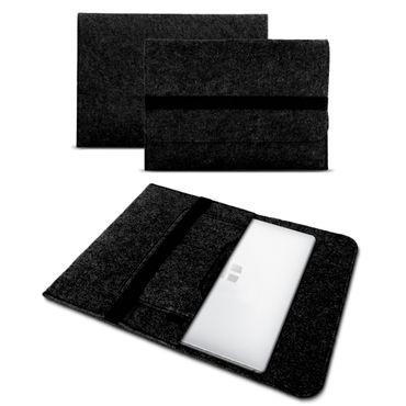 Sleeve Hülle TrekStor Yourbook C11B Tasche Filz Notebook Cover Schutz Case Grau – Bild 9