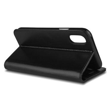 Schutzhülle Apple iPhone Xs Max Handy Tasche Klapphülle Hülle Case Schutz Cover – Bild 3